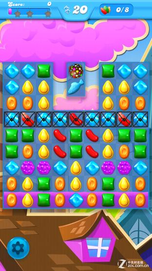 每日佳软:糖果传奇续作糖果苏打粉碎传奇