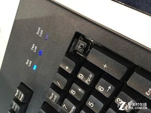 美国CES展:Cherry展出静音机械轴键盘