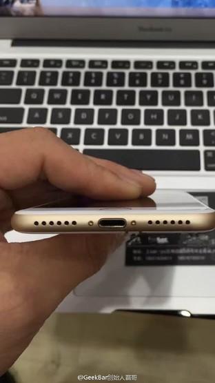 开机的iPhone7谍照曝光 或为测试版本