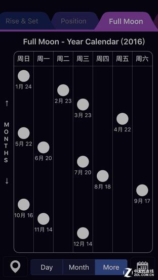 App今日免费:赏月神器 Moon Calendar