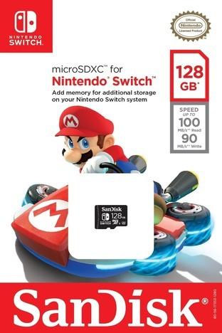 任天堂与西数合作推出Switch专用SD卡