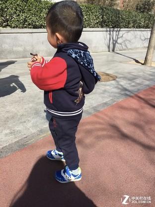 QQ物联儿童智能定位鞋体验