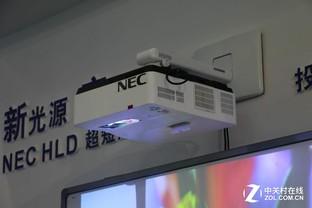 NEC携超短焦投影解决方案亮相教育展