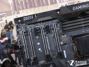 X99新品来袭 微星碳纤维GAMING主板评测