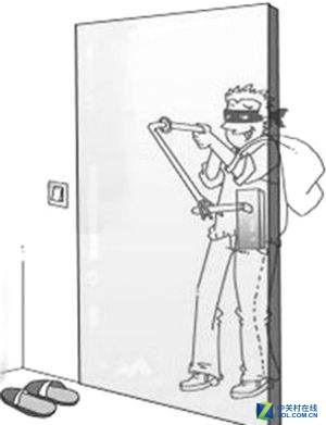 门上的这个东西,不注意的话很危险