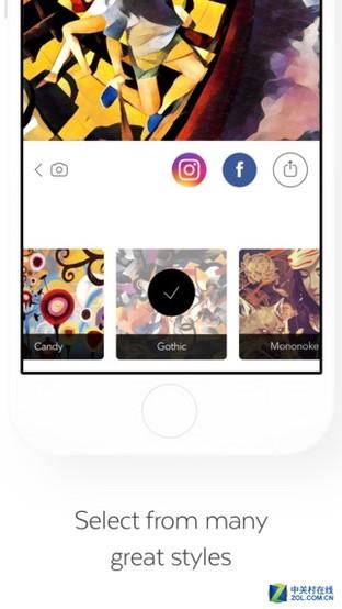 """App今日免费:隋彩凤智能修图 """"Prisma"""""""