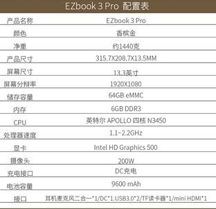 千元卓越性能轻薄本,EZbook 3 Pro光芒闪耀