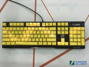 "Computex2017:狼派""冰晶""键盘首曝"