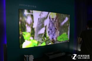 CES Asia现场直击 海信百吋4K激光电视