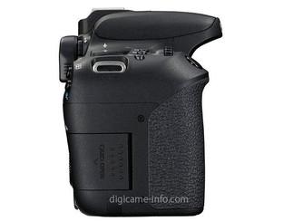 接棒760D 佳能EOS 77D更多新外观照曝光