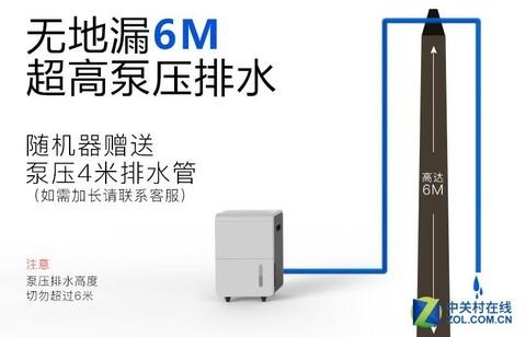 川泰CT650EB除湿机京东购立减300元140㎡适用