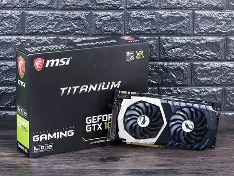 """""""钛""""出色 微星GTX 1070 Ti Titanium评测"""