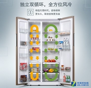 变频压缩机节能静音 西门子冰箱天猫钜惠