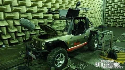 绝地求生优化车辆音效 专业录音公司真车采集