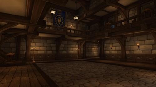 这就是魔兽世界6.0中的联盟/部落主城