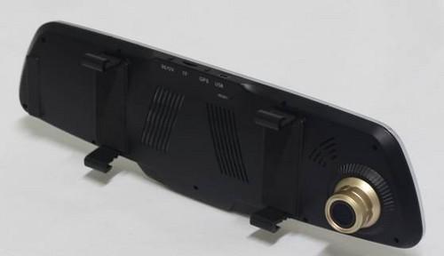 大智g822后视镜双镜头行车记录仪到货开箱-中关村在线