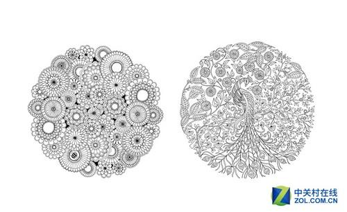 发现曼陀罗与结构性的涂色有助于减少焦虑情绪