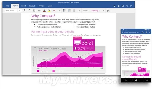Office 2016官方预览:这才是微软的聚宝盆!