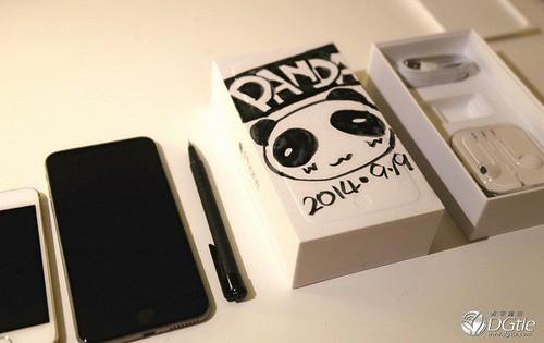 包装盒还能这样玩 -- iphone 6 plus 外包装盒 di y