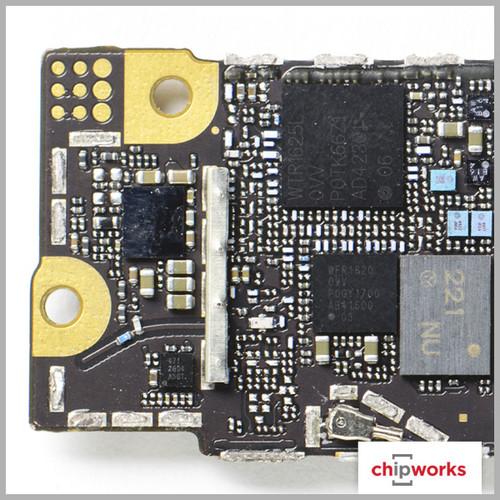 苹果 正文  iphone 6 plus主板 (图片来自chipworks) iphone 6 plus