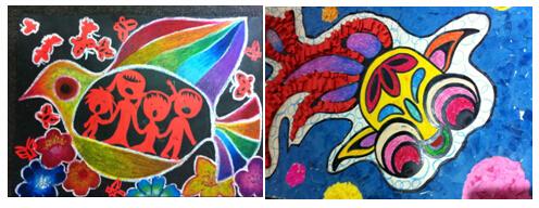 柯尼卡美能达特殊儿童绘画手工大赛投票启动图片