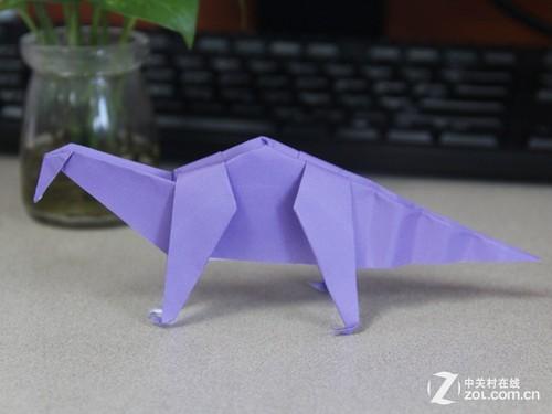 趣味折纸停不下来 周末恐龙大战走起-中关村在线