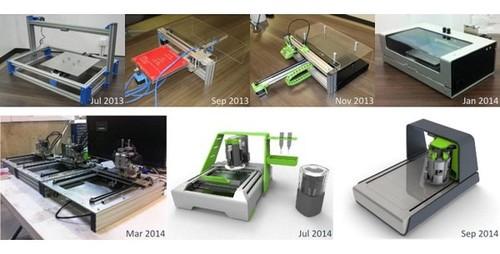 原型电路板雕刻点焊机voltera亮相众筹网站