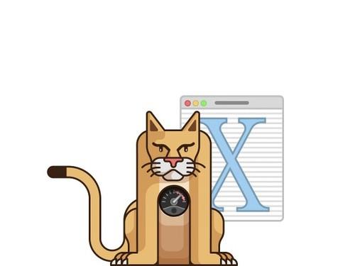 另类插图:这么可爱一定是苹果 mac os x
