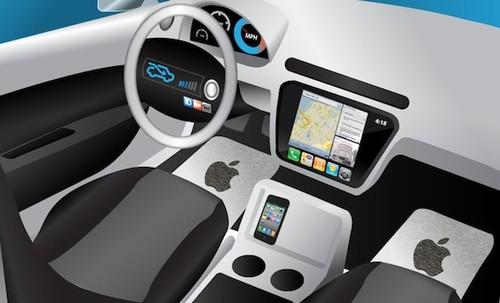 苹果汽车概念图(图片来自idownloadblog)