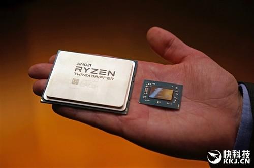 """放弃针脚!AMD ThreadRipper""""果照""""亮相:首款桌面LGA"""
