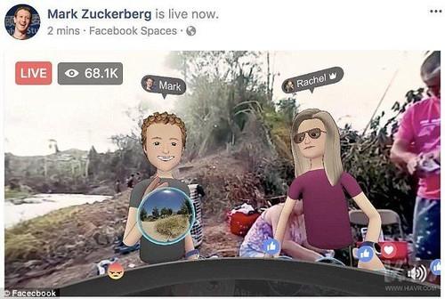扎克伯格VR游览飓风灾区波多黎各被痛批