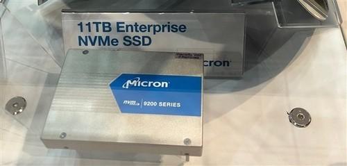逼死机械硬盘:美光首秀11TB U.2、8TB SATA SSD