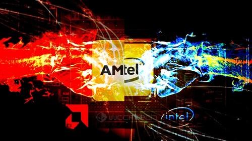 【震惊】AMD为Intel处理器做核显