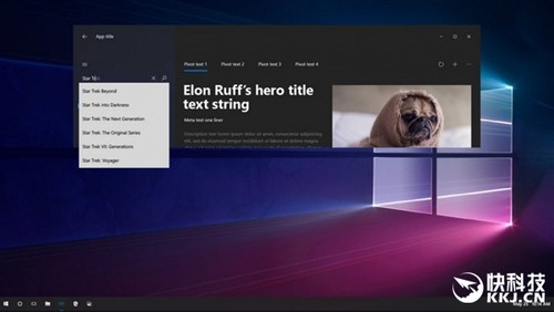 Windows 10 RS3新截图偷跑:毛玻璃回归、动画丰富