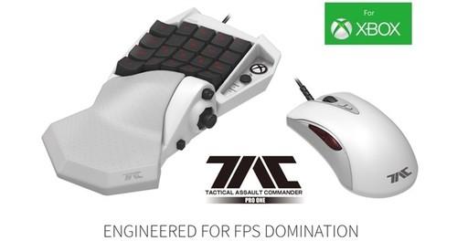 Xbox专用键鼠套装推出: 今后玩FPS爽翻了