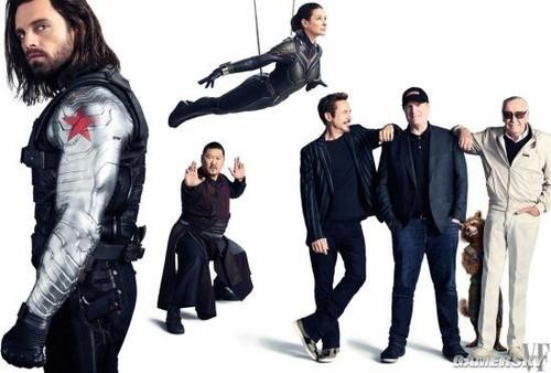 《复联3》17位英雄完全亮相:寡姐手持双棍身材火辣