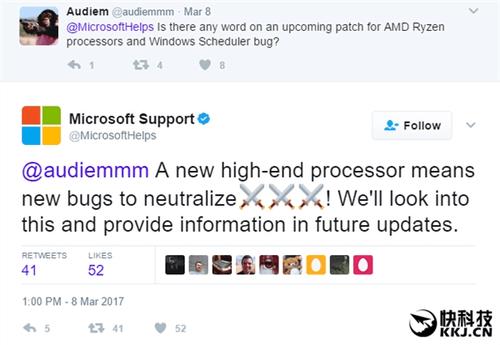AMD:Ryzen完美支持Win10/Win7 超线程没毛病!