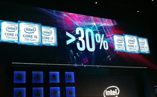 榨干14nm!Intel官方曝光八代酷睿:性能提升30%