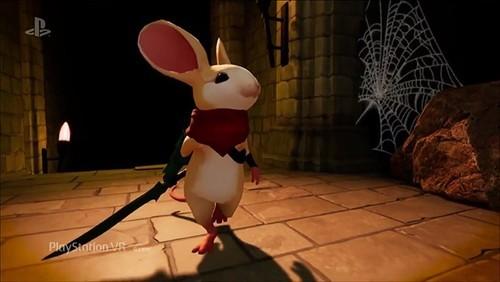 化身小白鼠!《莫斯》将于2018年初登陆PSVR