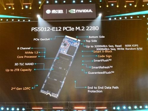 影驰首秀超级SSD:全新主控+8TB!
