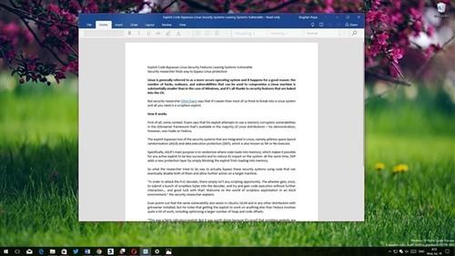 Office回归毛玻璃特效!Windows 10致敬Win7