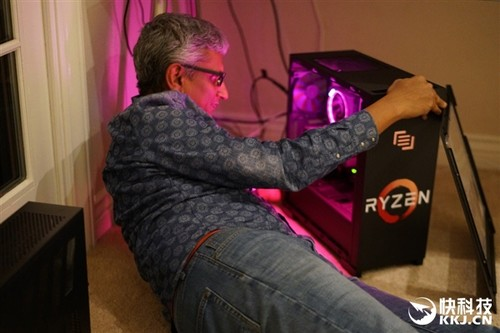AMD Ryzen原装散热器曝光:LED灯光闪亮
