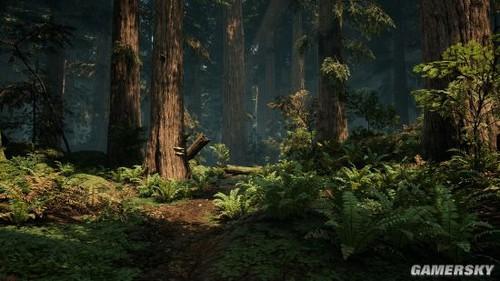 设计师用虚幻4打造森林地图 媲美寒霜3图片