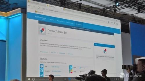 微软AI第一步Bot Frame帮你定披萨外卖_软件资讯新闻资讯-中关村在线但彈堂