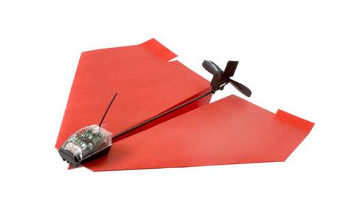 遥控纸飞机也可以飞很远!