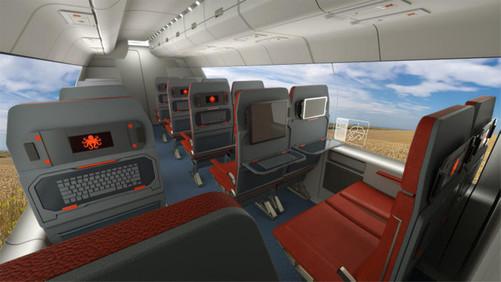 比飞机头等舱还豪华 超级高铁细节曝光-中关村在线