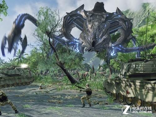 大型3d游戏《孤岛危机》