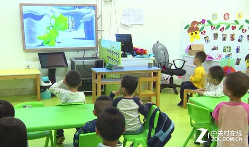 倚昌幼儿园电视机显神奇 全国促销惊喜