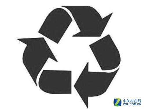 循环再生标识,简称为回收标识,标志着产品是使用可再生材料制造