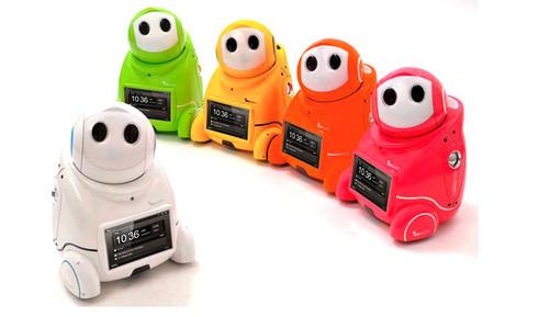 五颜六色萌萌大小优机器人(图片来自:baidu)